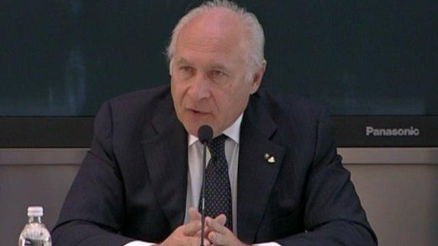 Costa Cruises Chief Executive Officer Pier Luigi Foschi