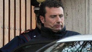 Francesco Schettino is arrested in Porto Santo Stefano