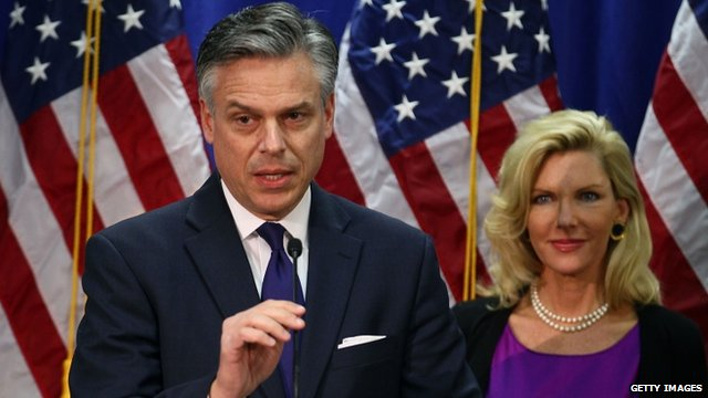 Jon Huntsman and wife Mary Kaye Huntsman