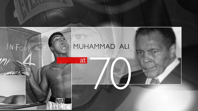 Muhammad Ali turns 70