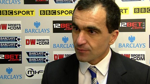 Roberto Martinez - Wigan manager