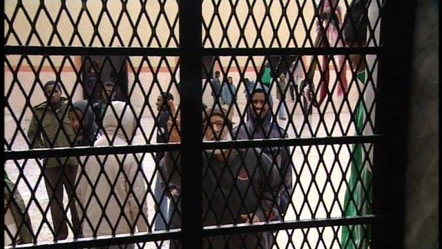 Jailed Gaddafi loyalists