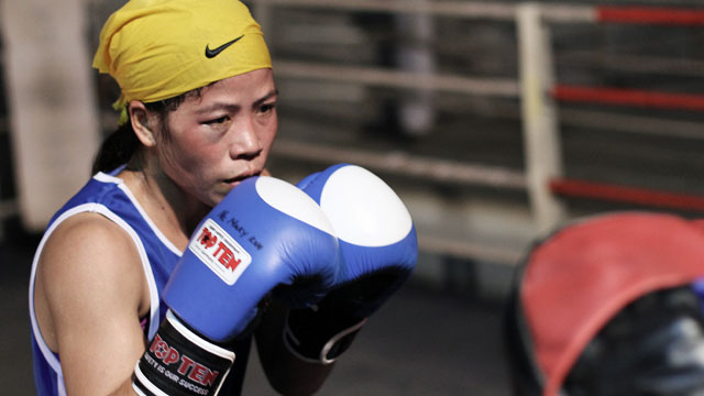 MC Mary Kom, India&#039;s Olympic boxing hopeful