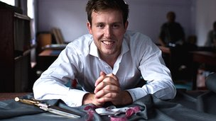 Warren Bennett, co-founder of A Suit That Fits 