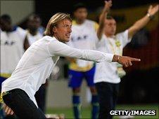 Zambia's French coach Herve Renard
