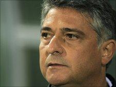 Libya's Brazilian coach Marcos Paqueta