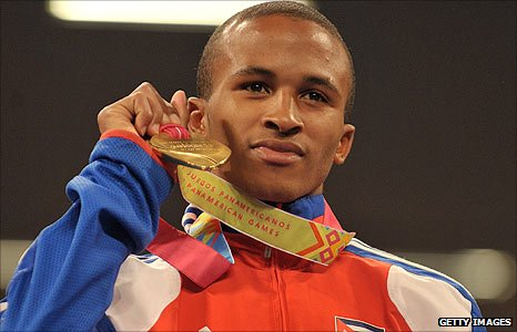 Cuban bantamweight Lazaro Alvarez will be a contender for gold in 2012