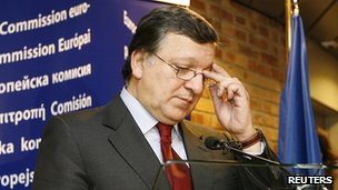 Commission President Barroso says Hungary's new legislation conflicts with EU law