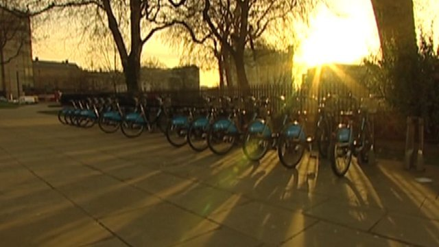 London bike hires