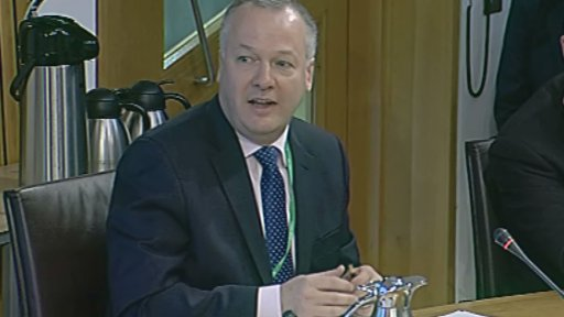 Michael Patten from Diageo gives evidence to Health Committee