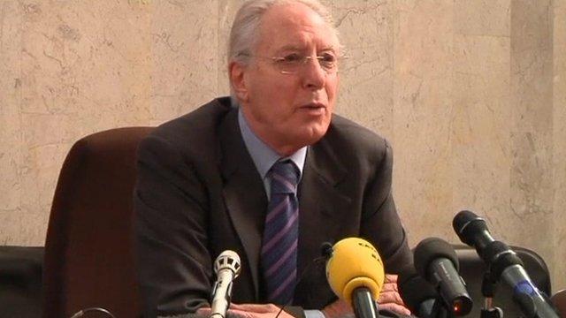 Prosecutor Francesco Verusio