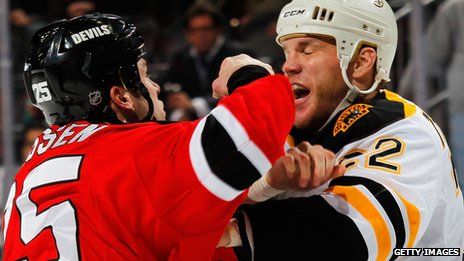 Are Ice Hockey 'enforcers' The Toughest Guys In Sport?