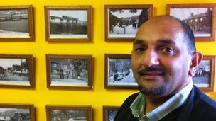 Arif Latif, former Longbridge worker