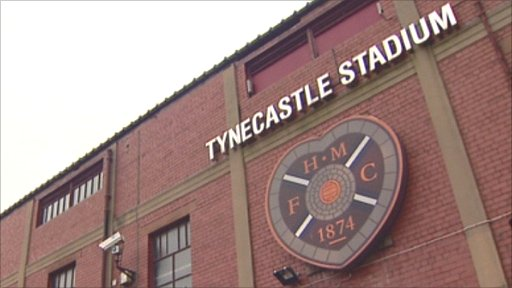 Hearts&#039; Tynecastle Stadium