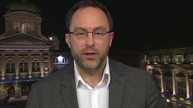 Wikipedia&#039;s founder, Jimmy Wales