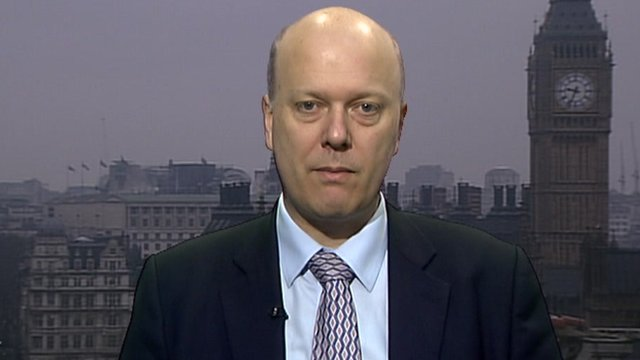 Chris Grayling, the Work and Pensions Minister