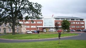 Cumberland Infirmary in Carlisle