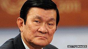 Vietnamese President Truong Tan Sang