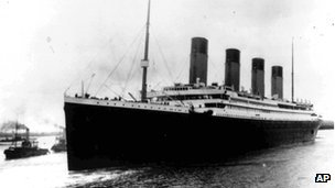 File photograph of the Titanic