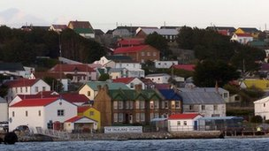 Port Stanley, Falkland Islands capital