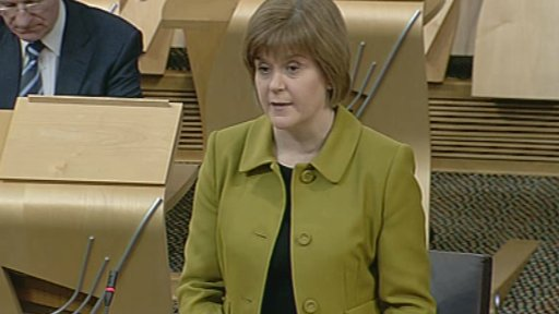Health Secretary Nicola Sturgeon announces a deal to end the ambulance rest breaks row