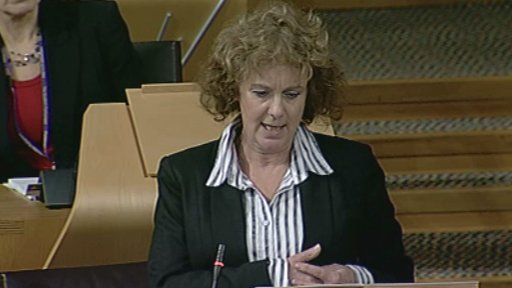 Scottish Labour MSP Elaine Murray