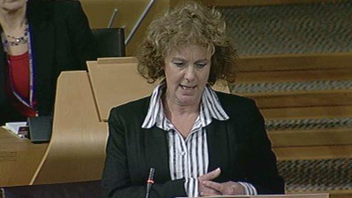Scottish Labour MSP Elaine Murray