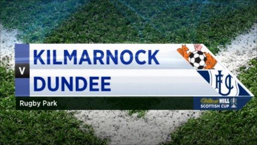 Scottish Cup - Kilmarnock 2-1 Dundee