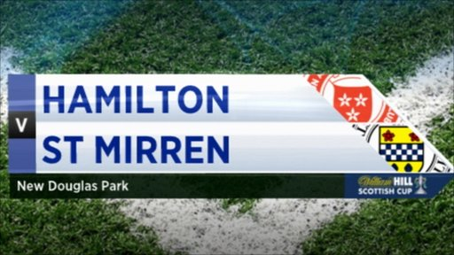 Scottish Cup - Hamilton 0-1 St Mirren
