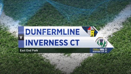 Dunfermline v Inverness CT