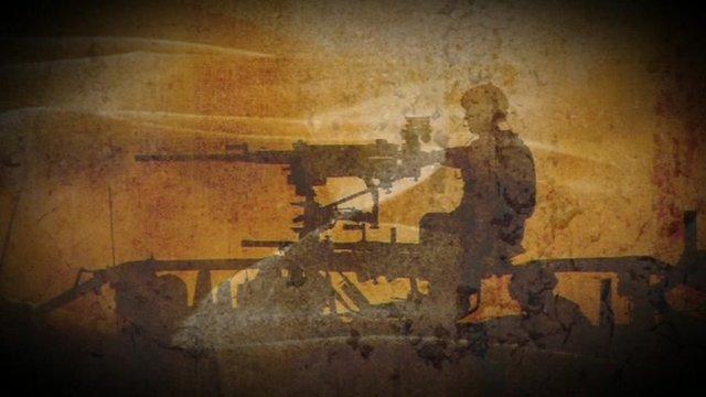 Britsh soldier in Libya