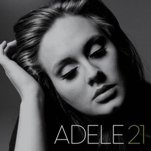 Cover of Adele's album, 21