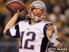Tom Brady of the New England Patriots