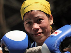 MC Mary Kom, India's Olympic boxing hopeful