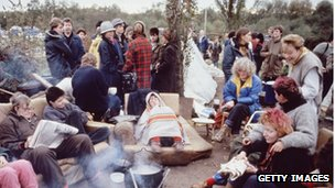 Greenham Common protest camp