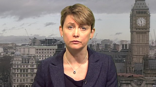 Yvette Cooper, the shadow Home Secretary