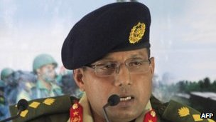 Bangladesh Army spokesman Masud Razzaq