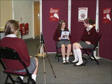 The School Reporters interview Megan
