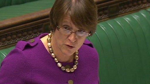 Environment Secretary Caroline Spelman