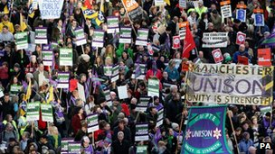 Up to two million public sector workers, both union and non-union members, went on strike last year