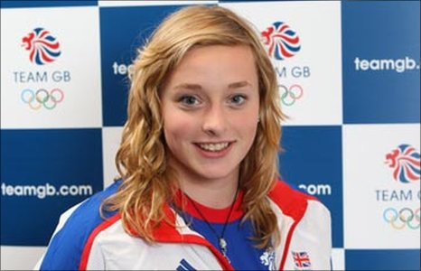 British swimmer Rachael Kelly