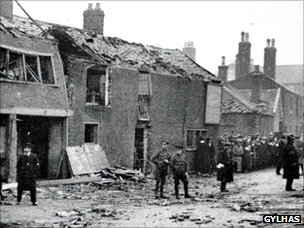 Scene of 1915 bombing in St Peter's Plain, Great Yarmouth