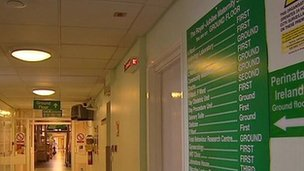 The trust is investigating the outbreak at the maternity hospital