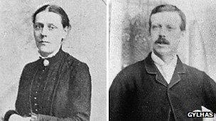 Martha Taylor (left) and Samuel Smith