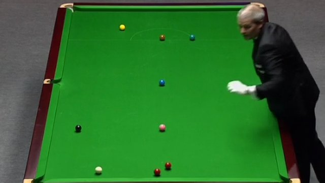 Snooker referee's foul up ruins Graeme Dott's flow