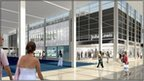 Artists impression of the proposed new frontage of John Lewis Milton Keynes