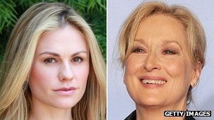 Anna Paquin and Meryl Streep