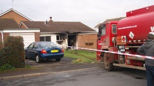 Fuel tanker crashes into bungalow