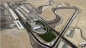 The Bahrain Formula One track was opened in 2004