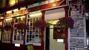 The Dublin Castle pub in Camden, London